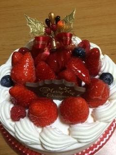 クリスマスケーキ2015.JPG