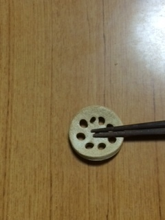 レンコンの箸置き.JPG
