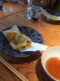 筍と青色野菜の天ぷら.JPG