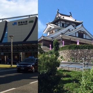 駅とお城.JPG